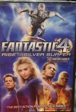 Fantastic 4 Rise Of The Silver Surfer  Dvd - Free Shipping