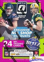 2017 Donruss Optic Football EXCLUSIVE Sealed Blaster Box-6 ROOKIES-MAHOMES RC YR