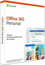 Microsoft Office 365 Personal - PC oder MAC - 1 Jahr - Abo - Key