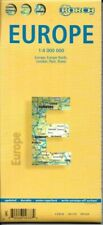 Laminated Europe Map by Borch (english Edition)