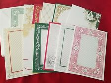 Anna Griffin Christmas Engravings Cards and Envelopes Set of 12
