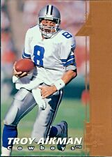 Lot of 3 Football Trading Cards: Brunell Jaguars and Aikman Cowboys