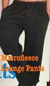 New Hathaway Mens MicroFleece Lounge Pants 100% Polyester ~ S  M  L  XL