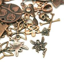 Mixed Shape Charm/Pendant Tibetan Red Copper 5-40mm  30 Grams Accessory Crafts