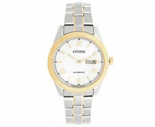 Citizen Stainless Steel Mechanical (Automatic) Wristwatches