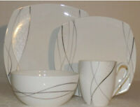 Mikasa Dinnerware Collection 4 piece Place Setting Porcelain New
