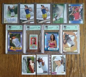 Michelle Wie 2003-2014 Lot. SP Authentic & Others. Please See Description.