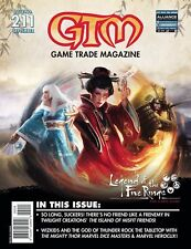 GAME TRADE MAGAZINE ISSUE 211 - GTM - NEW & SEALED WITH PROMO CARDS