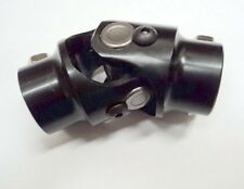 "3/4-36 Spline X 3/4"" DD BLACK Steering U Joint  Coupler Mustang II Power Rack"