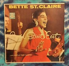 Bette St. Claire LP At Basin Street East SEECO Original (1960) Mono STAN FREE