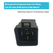 12V 40A 5 Pin Waterproof Integrated Auto Relay SPDT On/Off Auto Switch Control