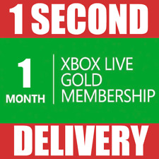 1 MONTH XBOX LIVE GOLD MEMBERSHIP (2x 14 Day) Microsoft Xbox One/ 360 -- INSTANT