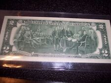 1976 $2 Bill 25 Concecutive Uncirculated $2 Bill Lot St. Louis Two Dollar Bills