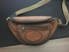 Vintage PB Collection Simulated Leather Fanny Pack Hip Bag Brown