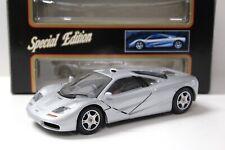 1:18 Maisto McLaren f1 Road Car Silver New chez Premium-modelcars