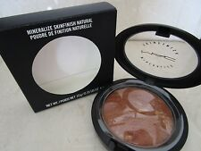 MAC MINERALIZE SKINFINISH NATURAL WARMED 0.35 OZ BOXED SEE DETAILS