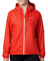 New Columbia Womens Fash Forward Lined Jacket Windbreaker Rain Coat  1x