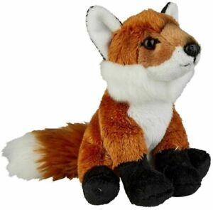 RAVENSDEN SOFT TOY FOX 15CM FRS007FO CUDDLY CUTE FURRY PLUSH Gift Idea