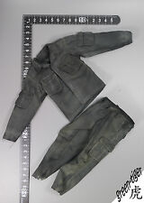 "A503 1:6 Scale ace 13005 MAC V SOG ""BlackJack"" - Black Dyed Jacket & Trousers"