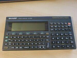 sharp pc e500 pocket computer basis calculator