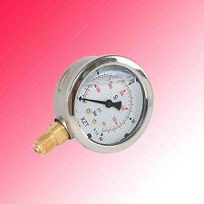 Hydraulic Pressure Gauge 63mm-40BAR/600PSI(G1/4-Base Entry)