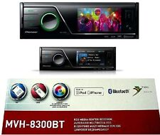 "PIONEER mvh-8300bt Autoradio con DivX Bluetooth SD USB mp3 3"" TFT monitor a colori"
