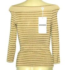 Viscose 3/4 Sleeve Hand-wash Only Striped Tops & Blouses for Women