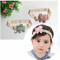 Bow Lace Hairband Flower Hair Accessories Mother & Kids Girls Girls Clothing