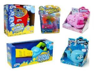 Kids Electric Bubble Machine Maker Blower Gun Childrens Indoor Outdoor Fun Toy