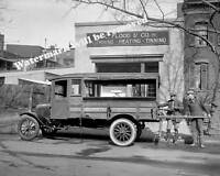 Photograph of a Graham US Army Cargo Tent Truck 1924  8x10