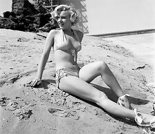 MARILYN MONROE 1951 SWIMSUIT BEAUTY ON SAND  (1) RARE 4x6 GalleryQuality PHOTO