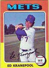 1975 Topps Ed Kranepool New York Mets #324 Baseball Card