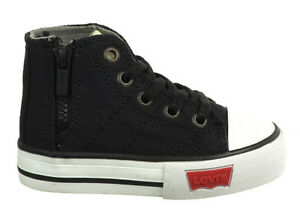 Levi's Newland Infant Shoes Black Unisex Baby Sneakers 555345-01a