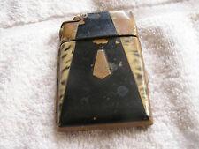 Vintage Art Deco Marathon Lighter Cigarrette Case