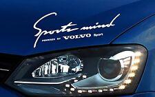 Volvo Sports Mind Aufkleber S40 S60 S80 XC70 XC90 V40 V50 V70 C70 Emblem Logo