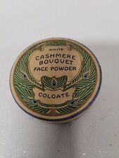 Vintage 40s/50s Colgate Cashmere Bouquet Face Powder Box-EMPTY-Dark Rachel Color