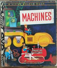 MACHINES #247 ~ WILLIAM DUGAN  1973 ~ A LITTLE GOLDEN BOOK ~ LGB