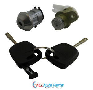 Ignition barrel + Right Door Lock For Ford AU + BA Falcon New Set With Keys