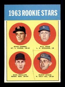 1963 Topps Set Break # 544 Carmel Haas Staus Phillips VG-EX *OBGcards*