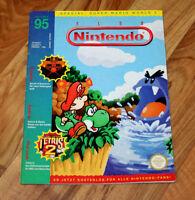 1995 Club Nintendo Magazine Kirby Dream Land Missile Command Secret of Evermore