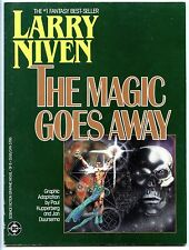 Larry Niven:The Magic Goes Away, First Printing ,Paperback