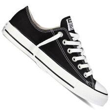 Scarpe da ginnastica nere Converse Piatto (Meno di 1,3 cm) per donna