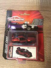 Majorette 212053152 - Deluxe Assortment - Ford Mustang GT - Matt Rot - Neu