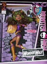 MONSTER HIGH * POWER GHOULS * CLAWDEEN WOLF, WONDER WOLF  2012