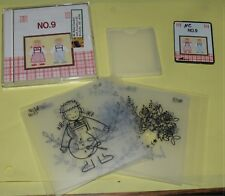 Brother Babylock Bernina Embroidery Machine Memory Card: Country w/Stencil No. 9