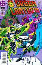 GREEN LANTERN #59 SIGNED BY ARTIST DARRYL BANKS
