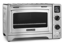 """KitchenAid 12"""" Convection Bake Digital Countertop Oven Stainless Steel NEW!"""