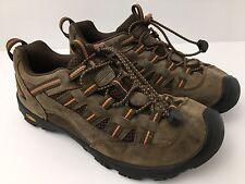 Keen Trail Shoes Alamosa Women's EU 39 US 6 Hiking Brown 9652 Bungee Lace Cord