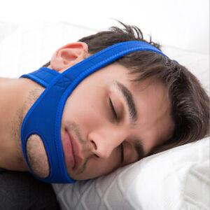 Snore Belt Stop Anti Snoring Cpap Chin Strap Quiet Sleep Apnea Jaw Solution