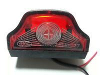 New 1x LED Number Plate Light fit Truck Trailer HGV Horsebox Camper Bus 12V 24V